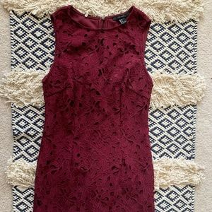 forever 21 lace mini dress
